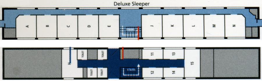 Amtrak Train Floor Plans